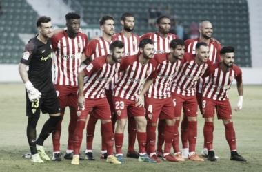 Once titular de la UD Almería frente al Elche CF en un partido de pretemporada | Fuente: UD Almería