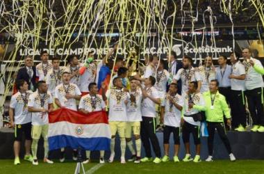 América celebrando su séptima Liga de Campeones. (Foto: CONCACAF)