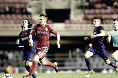 Aleix Febas, el mejor frente al Barcelona B según la afición