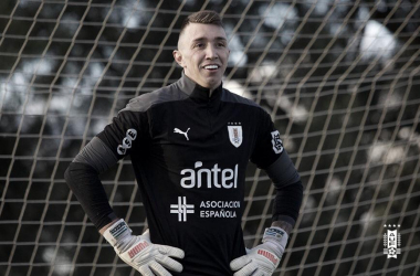 Fernando Muslera- Arquero de la selección uruguaya