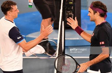 20-time Grand Slam champion Roger Federer survives John Millman scare
