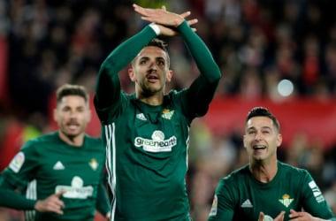 Zou Feddal celebra su gol ante el Sevilla FC | Foto: LaLiga