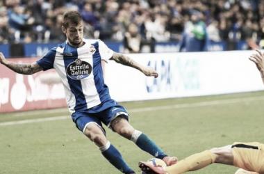 Fede Cartabia en una de las jugadas del partido | Imagen: RC Deportivo