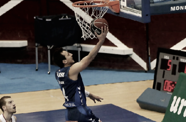 Fede Van Lacke el hombre que dio la victoria al GBC. Foto: ACB Photo/ L.García