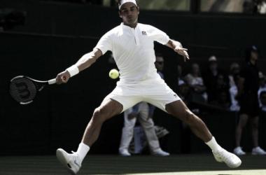 Majestuosa actuación de Federer
