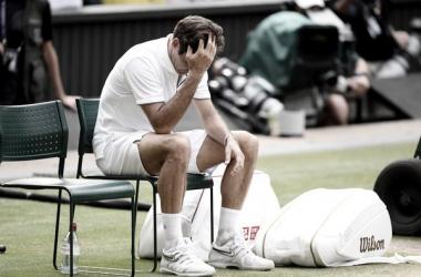Federer no se levanta, pierde en tercera ronda en Cincinnati
