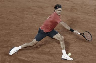 El helvético jugó por primera vez en la sesión nocturna / Foto: Roland Garros