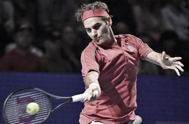 Em seu jogo de número 1500 na carreira, Federer arrasa Gojowczyk e avança no ATP de Basel
