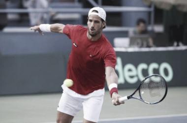 Copa Davis: Feliciano López puso en ventaja a España