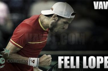 Copa Davis 2017. Feliciano López: casta y polivalencia al servicio de la selección
