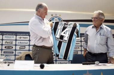 Felipão é o novo treinador do Grêmio