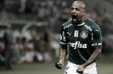 Felipe Melo em atuação pelo Palmeiras (Foto: Divulgação/SE Palmeiras)