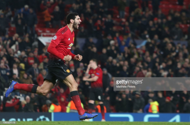 Fellaini rescues a poor United performance | (Photo by Matthew Peters/Man Utd via Getty Images)