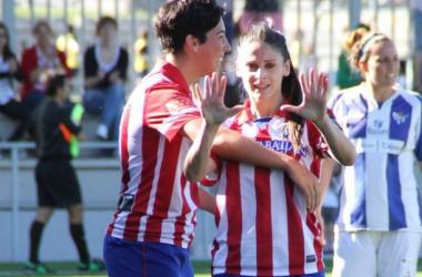 Tres puntos y un triplete de Esther González para festejar el tercer puesto