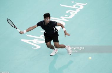 Chung se llevó la victoria en el partido por el quinto puesto. Foto: Getty Images.