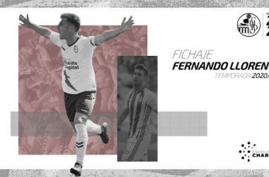 El Salamanca CF ficha a Fer Llorente procedente del Majadahonda