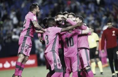 Leganés - Levante UD, puntuaciones del Levante, Liga Santander Jornada 38