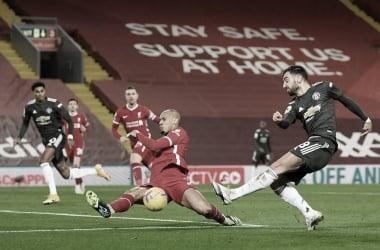 Manchester United quiere hundir las esperanzas europeas del Liverpool / Foto: Premier League