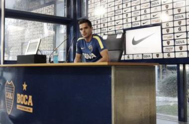 El volante del seleccionado admitió el golpe que significó la eliminación de la Libertadores. Foto: Infobae.