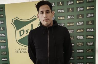 Fernando Márquez. Foto: Club Defensa y Justicia.