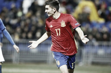 Ferrán Torres aporta la guinda en la victoria de la Sub-19