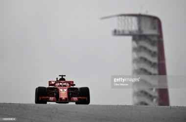 Ferrari manda en la única sesión de libres sobre seco