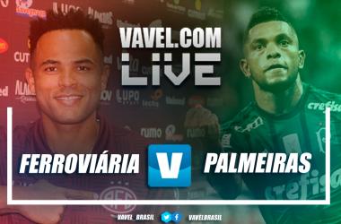Resultado para Ferroviária 0x0 Palmeiras