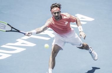 Ferrer estará en la segunda ronda de Auckland. Foto: ATP World Tour.