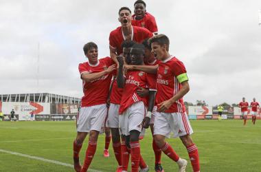 Juniores do Benfica vencem Liverpool na Youth League