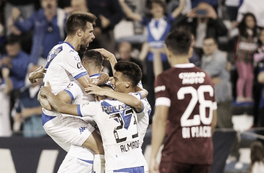El Fortín goleó al Granate en la última fecha de la Superliga pasada (Foto: Fox Sports).
