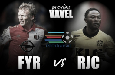 Feyenoord - Roda: contraste visible