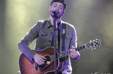 Luis Cepeda en su concierto en el Auditorio Víctor Villegas | Foto: Marta C.