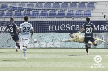 El fútbol es injusto con el Huesca