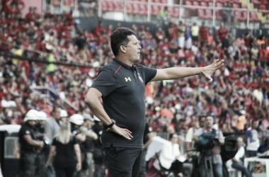Comandante conheceu sua primeira derrota em casa no Brasileirão (Foto: Williams Aguiar/Sport Club Recife)