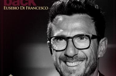 Após cinco anos no Sassuolo, Eusebio Di Francesco assume comando técnico da Roma