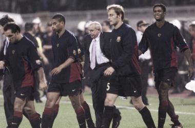 Aquel año de Serra Ferrer en Barcelona comenzó contra el Málaga