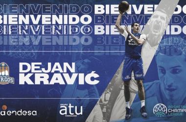 San Pablo Burgos refuerza su juego interior con Dejan Kravic