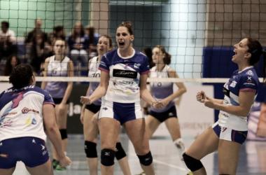 Fígaro Peluqueros, campeón de la Supercopa femenina. Foto: rfevb.com