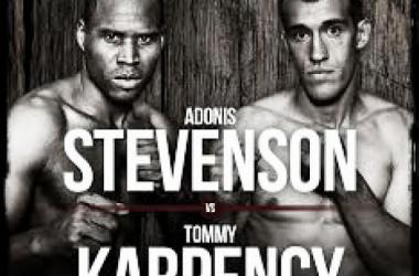 Stevenson versus Karpency/Foto:fightkings.com