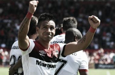 Figueroa, autor de uno de los tantos ante Lanús, será titular. Foto: Prensa CANOB.