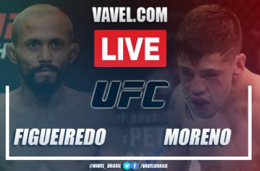 Resumen del empate mayoritario entre Brandon Moreno y Figueiredo en UFC 256