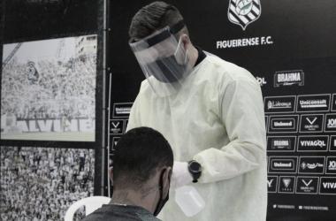 Após realização de testes, Figueirense não registra nenhum caso positivo de Covid-19