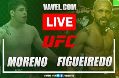 Melhores momentos e destaques da vitória de Brandon Moreno sobre Figueiredo na UFC 263