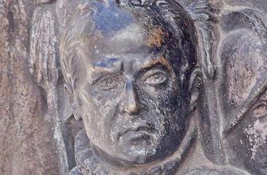 <span>Lope de Figueroa, según el monumento a Calderón de Juan Figueras y Vila. Fuente: ABC</span>