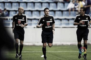 Figueroa Vázquez durante un calentamiento previo a un partido. | Imagen: Liga de Fútbol Profesional.