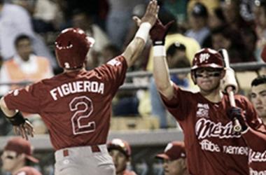 Figueroa fue la estrella de la noche | Foto: Diablos Rojos del México