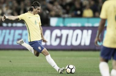 Resultado negativo foi o primeiro de Tite à frente da Seleção, quebrando série de oito jogos (Foto: Lucas Figueiredo/CBF)