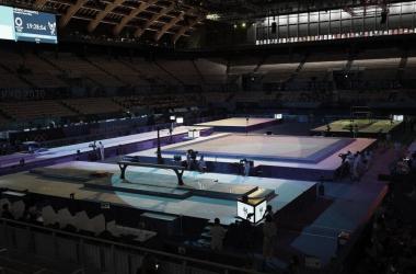 Resultados das finais da ginástica artística nas Olimpíadas 2020