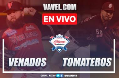 Resumen carreras Tomateros 6-2 Venados en Juego 1 Final LMP 2020