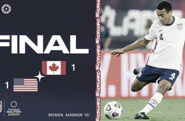 Estados Unidos empató ante Canadá y suma dos puntos en el camino a Qatar 2022 | Fotografía: U.S.Soccer